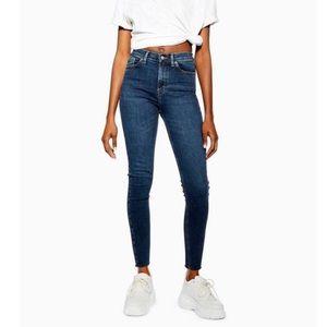 Topshop Jamie Blue Jeans
